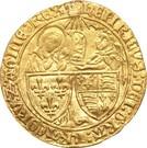 Salut d'or Henri VI Roi de France et d'Angleterre – obverse