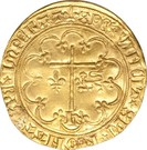 Salut d'or Henri VI Roi de France et d'Angleterre – reverse