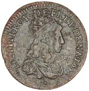 Liard - Louis XIV -  obverse