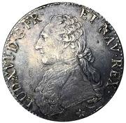 1 Écu - Louis XVI – obverse