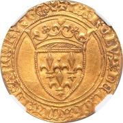 Ecu d'Or - Charles VI – obverse