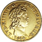 Double Louis d'Or - Louis XIV - Quadruple Thick – obverse