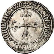 Gros de Roi - Louis XI – reverse