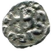 Denier mérovingien ( VIème VIII ème siécle) – reverse