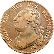12 Deniers - Louis XVI (FRANÇAIS) -  obverse