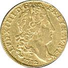 Louis d'or au soleil – obverse