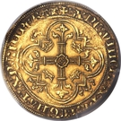 Double Royal d'or - Philippe VI de Valois – reverse