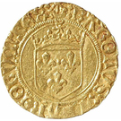 ½ Écu d'Or - Charles VIII – obverse
