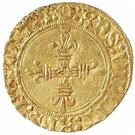 ½ Écu d'Or - Charles VIII – reverse