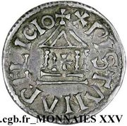 Denier - Louis I the Pious (Christian legend) – reverse