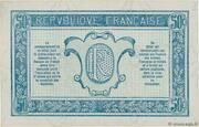 50 centimes - Trésorerie aux Armées (type 1919) – reverse