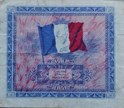 2 Francs - Allied Military Currency – reverse