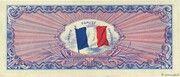 50 francs Drapeau (type 1944) – reverse