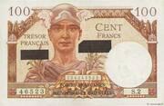 100 francs Suez (type 1956) – obverse