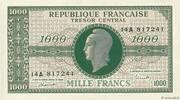 1000 francs Marianne (type 1945, chiffres gras) – obverse