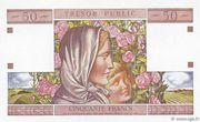 50 francs Trésor public (type 1963) – reverse