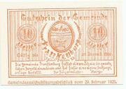 10 Heller (Frankenburg) -  reverse