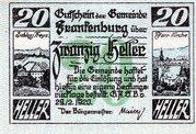 20 Heller (Frankenburg) -  obverse