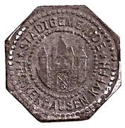 50 Pfennig - Frankenhausen – obverse