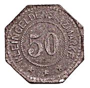50 Pfennig - Frankenhausen – reverse