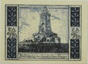 50 Pfennig (Kyffhäuser Series) – reverse