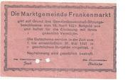 20 Heller (Frankenmarkt) -  reverse