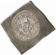 15 Batzen (Klippe; Siege coinage) – obverse