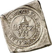 7½ Batzen (Siege coinage; Klippe) – obverse
