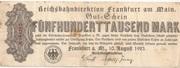 500,000 Mark (Reichsbahndirektion) -  obverse