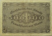 500,000 Mark – reverse