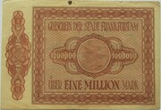 1,000,000 Mark -  reverse