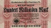 100,000,000,000 Mark (Reichsbahndirektion) – obverse