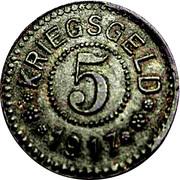 5 Pfennig - Frankfurt an der Oder – reverse