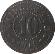10 Pfennig - Frankfurt an der Oder – reverse