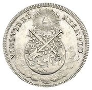 1½ Ducat (Silver pattern strike; Coronation) – reverse