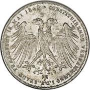 2 Gulden (Constitutional Convention) – obverse