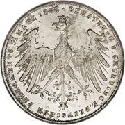 2 Gulden (Constitutional Convention) – reverse