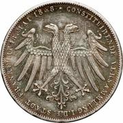2 Gulden (Archduke Johann) – obverse
