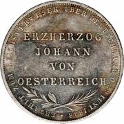 2 Gulden (Archduke Johann) – reverse