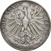2 Gulden (Goethe Centennial) – obverse