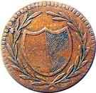 1 Pfennig (Judenpfennig) – obverse