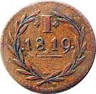 1 Pfennig (Judenpfennig) – reverse