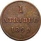1 Atribuo (Judenpfennig) – reverse