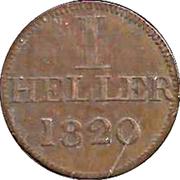1 Heller (Judenpfennig) – obverse