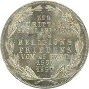 2 Gulden (Religious Peace) – reverse
