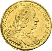 1 Ducat - Karl VII. (Coronation) – obverse