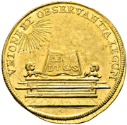 1 Ducat - Karl VII. (Coronation) – reverse