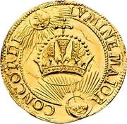 1 Ducat (Coronation) – reverse