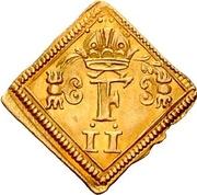 ½ Ducat (Coronation; Klippe) – obverse