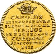 ¾ Ducat (Coronation) – obverse